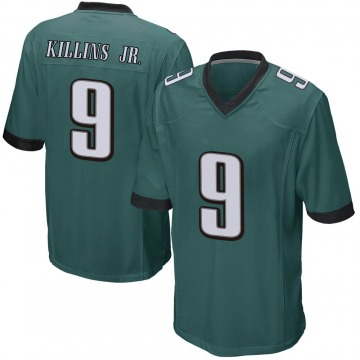 Youth Philadelphia Eagles Adrian Killins Jr. Green Game Team Color Jersey By Nike