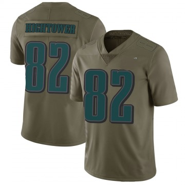 Youth Philadelphia Eagles John Hightower Green Limited 2017 Salute to Service Jersey By Nike